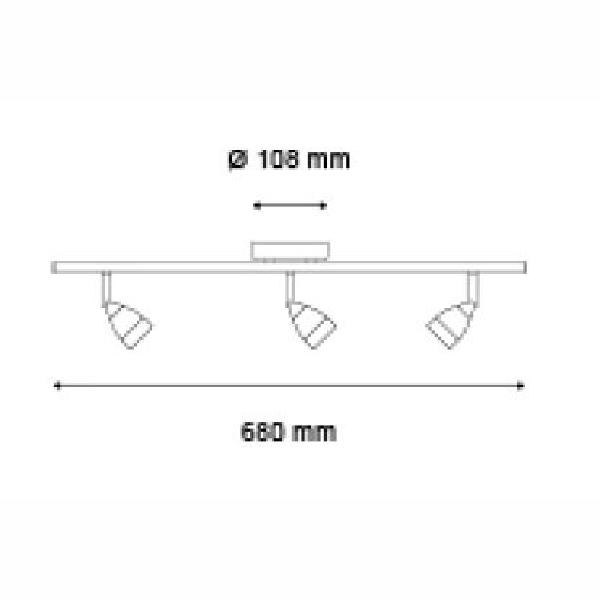 Luminario de techo modelo ACE V3 marca MAGG