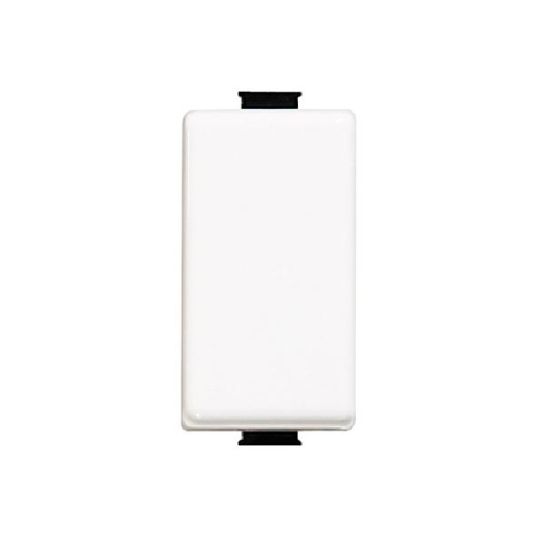 """Botón timbre """"Pulsador"""" en color blanco de serie Quinziño MX"""